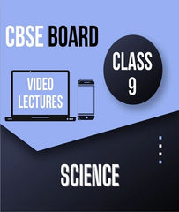 Class IX CBSE Science (Physics + Chemistry + Biology) Full Course By Study At Home - Zeroinfy