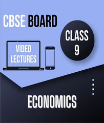 Class IX CBSE Economics Full Course By Study At Home - Zeroinfy