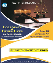 CA Inter Corporate and other laws Part-2 B  Companies Act (Question Bank Included) By CA Sahil Grover - zeroinfy