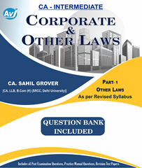 CA Inter Corporate and other laws Part-1 (Question Bank included) By CA Sahil Grover - zeroinfy