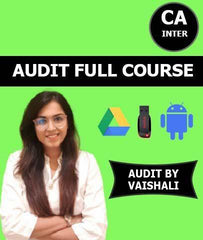 CA Inter / IPCC Full Course Audit By Vaishali - Zeroinfy