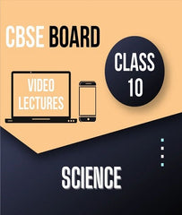 Class X CBSE Science (Physics + Chemistry + Biology) Full Course By Study At Home - Zeroinfy