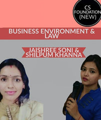 CS Foundation (New) Business Environment & Law By Jaishree Soni & Shilpum Khanna - Zeroinfy