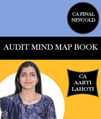 CA Final New/Old Audit Mind Map Book By CA Aarti Lahoti - Zeroinfy