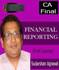 CA Final (Old) Financial Reporting (FR) Full Course Video Lectures By Sudarshan Agrawal - Zeroinfy