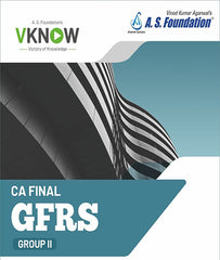 CA Final New GLOBAL FINANCIAL REPORTING STANDARDS Regular Book by CA Vinod Kumar Agarwal - Zeroinfy