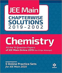 17 Years  Chapterwise Solutions Chemistry IIT JEE Main By Arihant Experts - Zeroinfy