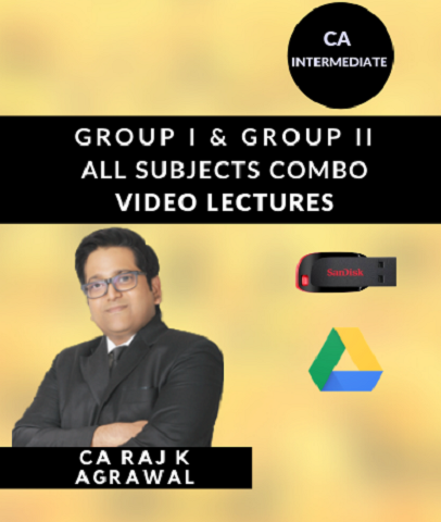 CA Intermediate Group I and Group II All Subjects Combo Course Video Lectures By Study At Home - Zeroinfy