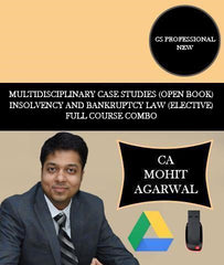 CS Professional Multidisciplinary Case Studies (Open Book) and Insolvency and Bankruptcy Law Full Course By CA Mohit Agarwal - Zeroinfy
