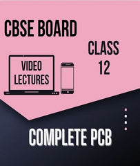 Class XII CBSE Physics, Chemistry, Biology Full Course By Study At Home - Zeroinfy