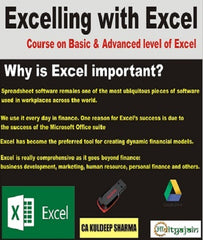 Excel Classes By CA KULDEEP SHARMA - Zeroinfy