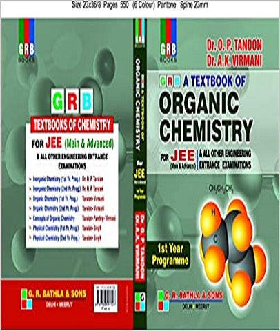 IIT JEE Organic Chemistry Text Book For 1st Year By O P Tandon and A K Virmani - Zeroinfy