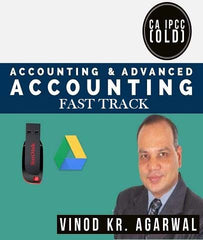 CA IPCC Accounting and Advanced Accounting Combo Fast Track Videos By Vinod Kr. Agarwal - Zeroinfy