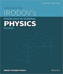 IIT JEE Wiley's Solutions to Irodov's Problems in General Physics, Vol I By Abhay Kumar Singh - Zeroinfy
