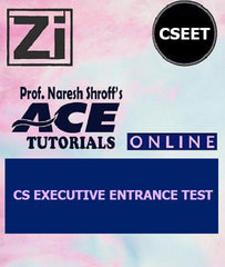 CS Executive Entrance Test Full Course Video Lectures By ACE Tutorials - Zeroinfy