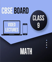 Class IX CBSE Maths Full Course By Study At Home - Zeroinfy