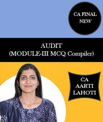 CA Final New AUDIT (MODULE-III MCQ Compiler) (6th Edition) By CA Aarti Lahoti - Zeroinfy