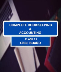 Book Keeping and Financial Accounting Full Course Class 11 for CBSE Board By LetsTute - Zeroinfy