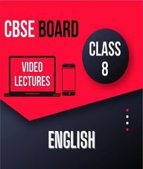 Class VIII CBSE English Full Course By Study At Home - Zeroinfy