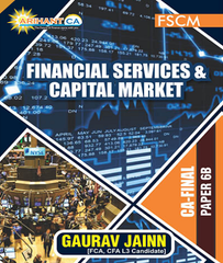 CA Final Financial Services, Capital Markets Concept, Question Booklet Volume -1, Volume -3 By CA Gaurav Jain - Zeroinfy
