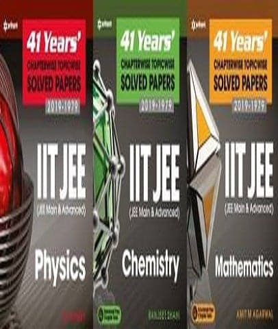 41 Previous Years IIT JEE Solved Paper Combo Physics, Chemistry and Mathematics By D C Pandey - Zeroinfy