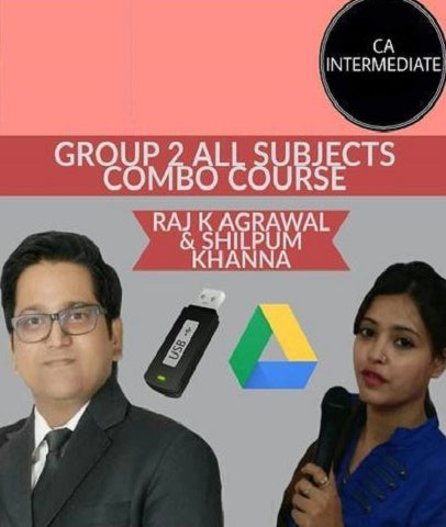 CA Intermediate Group II All Subjects Combo Course Video Lectures By Study At Home - Zeroinfy