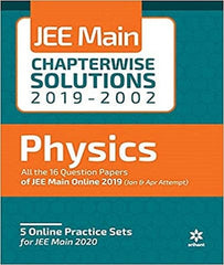17 Years Chapter Wise Solutions Physics IIT JEE Main By Arihant Experts - Zeroinfy