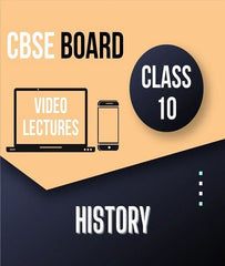 Class X CBSE History Full Course By Study At Home - Zeroinfy