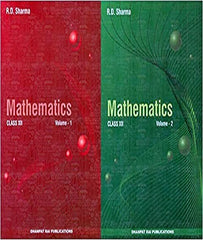 Mathematics for Class 12 (Set of 2 Vol.) Examination 2020-2021 & Class 11 (set of 2 vol.) Examination 2020-2021: Vol. 2 (Set of 2 Books) By R D Sharma - Zeroinfy
