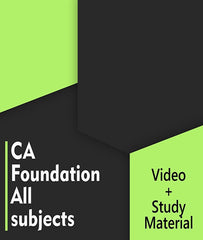 CA Foundation All Subjects Combo By Agrawal Classes - Zeroinfy