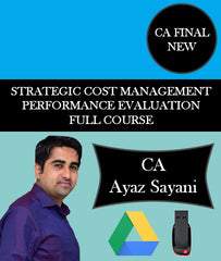 CA Final Costing (SCMPE) Full Course By CA Ayaz Sayani - Zeroinfy