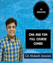 CS Executive CMA and FSM Full Course Combo By CA Mukesh Jaswani - Zeroinfy