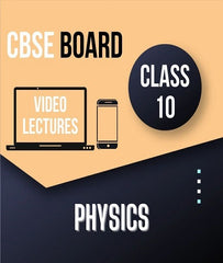Class X CBSE Physics Full Course By Study At Home - Zeroinfy