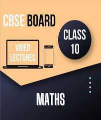 Class X CBSE Maths Full Course By Study At Home - Zeroinfy