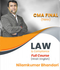 CMA Final (New) Corporate Laws & Compliance By CA Nilamkumar Bhandari- Zeroinfy