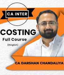 CA Inter Costing Full Course by Darshan Chandaliya - Zeroinfy