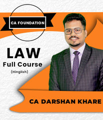 CA Foundation Law Full Course By CA Darshan Khare - Zeroinfy