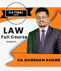 CA Final Law Full Course by CA Darshan Khare (New/Old) - Zeroinfy