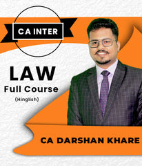 CA Inter Law Full Course Videos By Darshan Khare - Zeroinfy