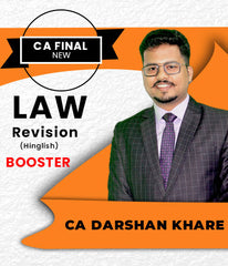 CA Final Law Booster Revision By CA Darshan Khare - Zeroinfy