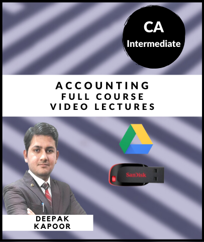 CA Inter Accounting Full Course By CA Deepak Kapoor - Zeroinfy