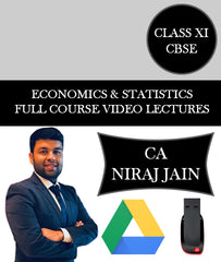Class XI CBSE Economics and Statistics Full Course Video Lectures By CA Niraj Jain - Zeroinfy