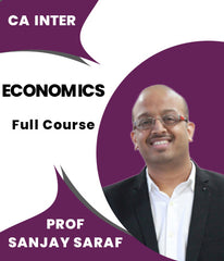 CA Inter Economics For Finance Full Course Video Lectures By Prof Sanjay Saraf - Zeroinfy