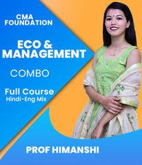 CMA Foundation Eco and Management Full Course by Prof Himanshi - Zeroinfy