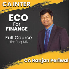 CA Intermediate Economics for Finance Full Video Lectures By CA Ranjan Periwal - Zeroinfy