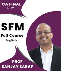 CA Final New SFM In English Full Course Video Lectures By Prof Sanjay Saraf - Zeroinfy