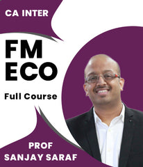 CA Inter FM ECO Full Course Video Lectures By Prof Sanjay Saraf - Zeroinfy