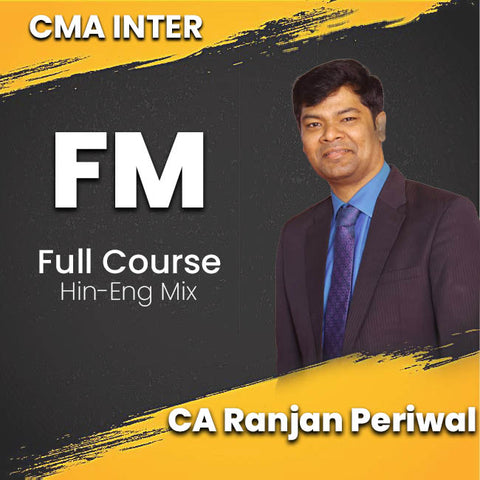 CMA Intermediate Financial Management Full Video Lectures By CA Ranjan Periwal - Zeroinfy