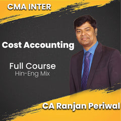 CMA Intermediate Cost Accounting Full Video Lectures By CA Ranjan Periwal - Zeroinfy