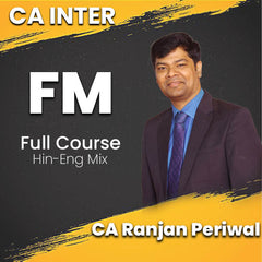 CA Intermediate Financial Management Full Video Lectures By CA Ranjan Periwal - Zeroinfy